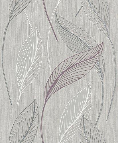 rasch-2015-plaisir-papel-pintado-para-pared-diseno-de-flores-color-gris-blanco-y-plateado