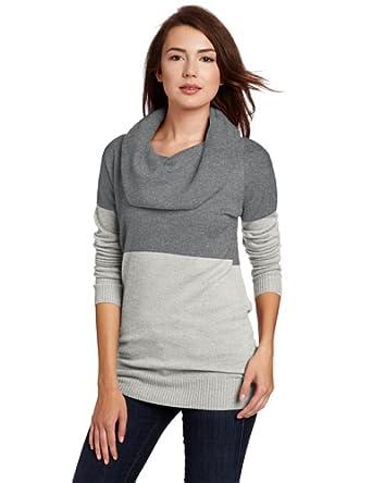 【超靓羊绒】美国羊绒品牌Christopher Fischer 美女100%纯羊绒衫 灰色 $60.58