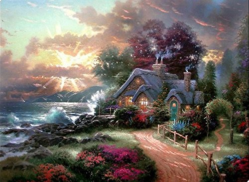 Thomas Kinkade Posters and Prints Landscape Painting Printed on ...