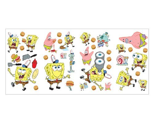 Nickelodeon Sponge Bob Square Pants Wall Stickers front-1041269