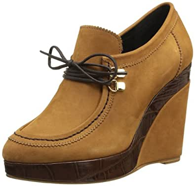 Gaspard Yurkievich Platform Brogue, Boots compensées femme - Beige (Var22), 36 EU