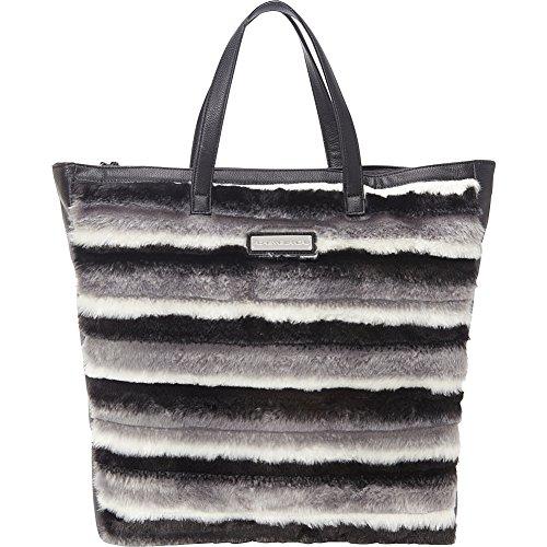 adrienne-landau-striped-shopper-tote-black-striped