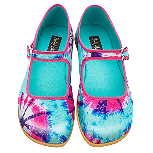 Hot Chocolate Design Chocolaticas Tie Dye Women's Mary Jane Flat Multicoloured US Size: 7 (Tie Dye In Womens Shoes compare prices)
