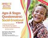 img - for Ages & Stages Questionnaires : Social-Emotional in Spanish (ASQ:SE-2(TM) Spanish): A Parent-Completed Child Monitoring System for Social-Emotional Behaviors (Spanish and English Edition) book / textbook / text book
