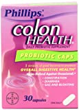 Phillips Colon Health Probiotic Capsules, 30-Count Bottle
