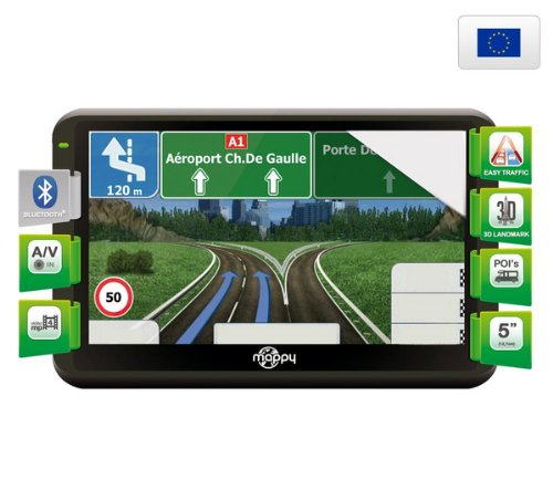 Navigationssystem Ulti X570 Camp Europa + Netzadapter