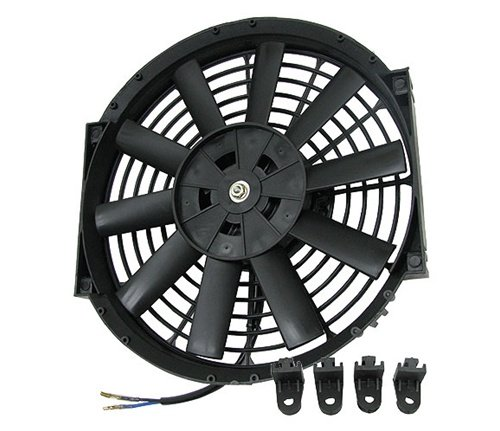 "Sonic Motor 14"" Universal Slim Electric Radiator Fan"