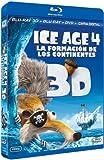 Ice Age 4 (Blu-ray 3D + Blu-ray + DVD + Copia Digital) [Blu-ray]