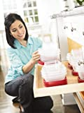 Rubbermaid Plastic Easy Find Lid Food Storage Set, 42-Piece, 188081