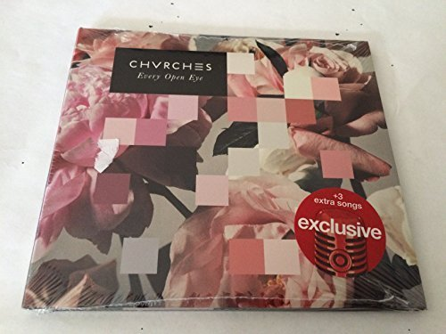 Every Open Eye Digipak CD+3 BONUS Tracks 2015 TARGET EXCLUSIVE by CHVRCHES (0100-01-01)