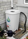 Enviro World 55 Gallon Rain Barrel with Brass Spigot