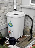 Enviro World 55 Gallon Rain Barrel with Brass Spigot