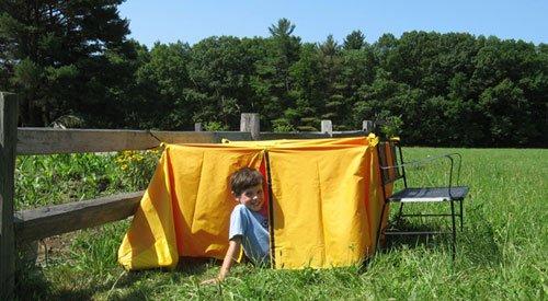 Kids Princess Tent front-653852