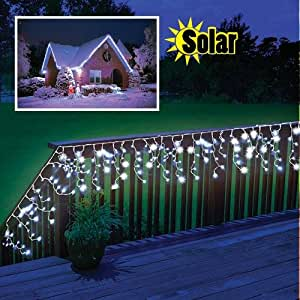 Solar powered led outdoor christmas for Amazon christmas lawn decorations