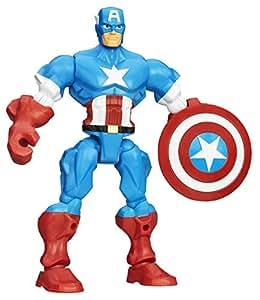 Marvel Avengers Super Hero Mashers Captain America Figure