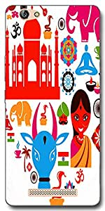 DigiPrints High Quality Printed Designer Soft Silicon Case Cover For Gionee S Plus