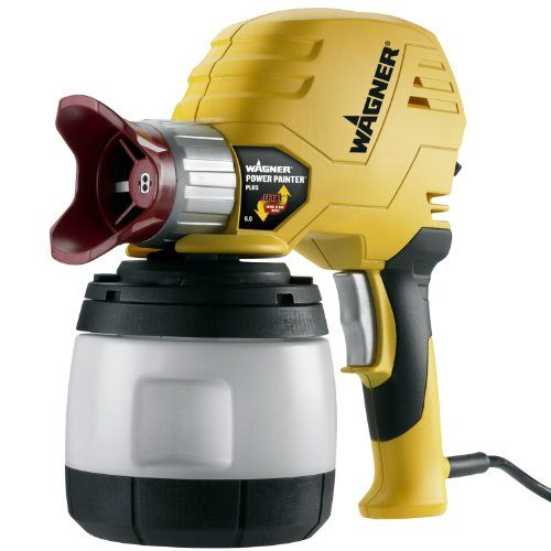 Wagner 0525027 Power Painter Plus with EZ Tilt 6.6 GPH handheld paint sprayer
