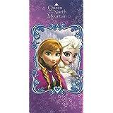 Disney Frozen Elsa & Anna 100% Cotton Beach Towel by Providencia