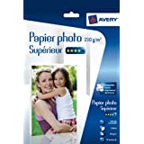 AVERY - 2497-35 - 35 feuilles de papier photo blanc brillant 230g/m�. A4. Impression jet d'encrepar Avery