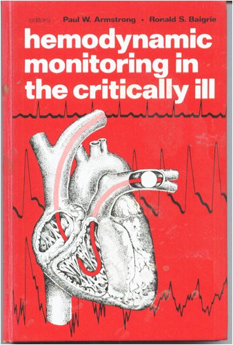 Haemodynamic Monitoring in the Critically Ill