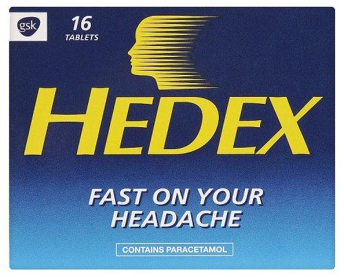 Hedex 16 Tablets