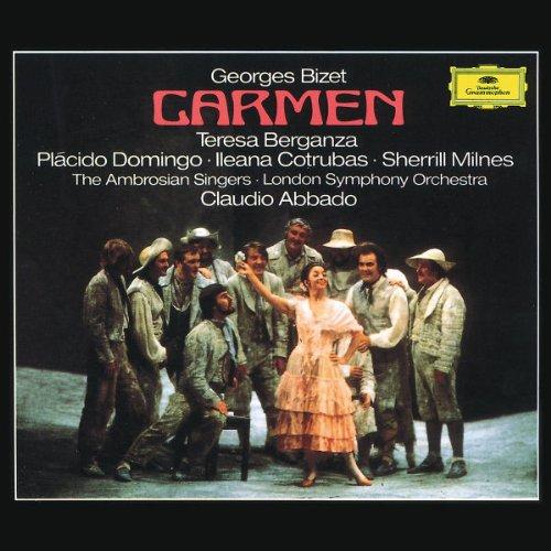 Carmen(Berganza/Domingo/Abbado) - Bizet - CD
