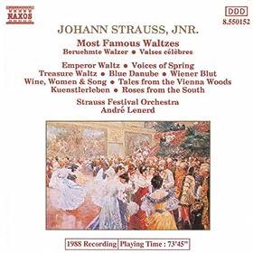 Fruhlingsstimmen (Voices of Spring), Op. 410