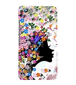 EPICCASE angel among flowers Mobile Back Case Cover For Micromax Canvas Fire 4 A107 (Designer Case)