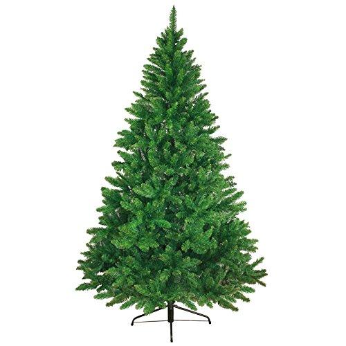 Albero di Natale artificiale WONDERLAND in 5 misure e 3 colori di BB Sport, Colore:verde medio; 210 cm (1.160