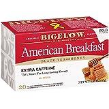 Bigelow American Breakfast Black Tea and Honey, 20 Count (Pack of 6)