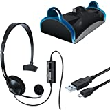 DREAMGEAR DGPS4-6411 PlayStation(R)4 Charge & Chat Bundle