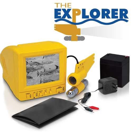 Explorer underwater video ice fish camera new reviews and for Underwater ice fishing camera