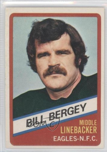 Bill Bergey Philadelphia Eagles (Football Card) 1976 Wonder Bread #17
