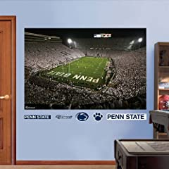 NCAA Penn State Nittany Lions Beaver Stadium White Out Mural Wall Graphic by Fathead