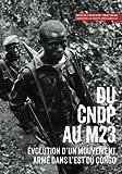 img - for Du CNDP au M23:  volution d'un mouvement arm  dans l'est du Congo (Usalama Project) (French Edition) book / textbook / text book