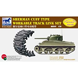 1/35 Sherman Cuff Workable Track Link Set