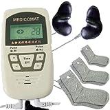 Neuropatía Tratamiento Massager Medicomat-10N acupuntura auricular proporciona un tratamiento eficiente y completamente...