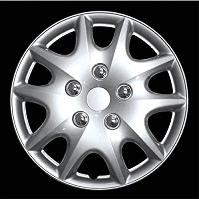 "HS (45478) 14"" Premium Quality Hubcap, (Pack of 4)"