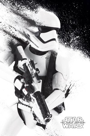 Poster Star Wars Episode VII - Stormtrooper Paint - affiche à prix abordable, poster XXL