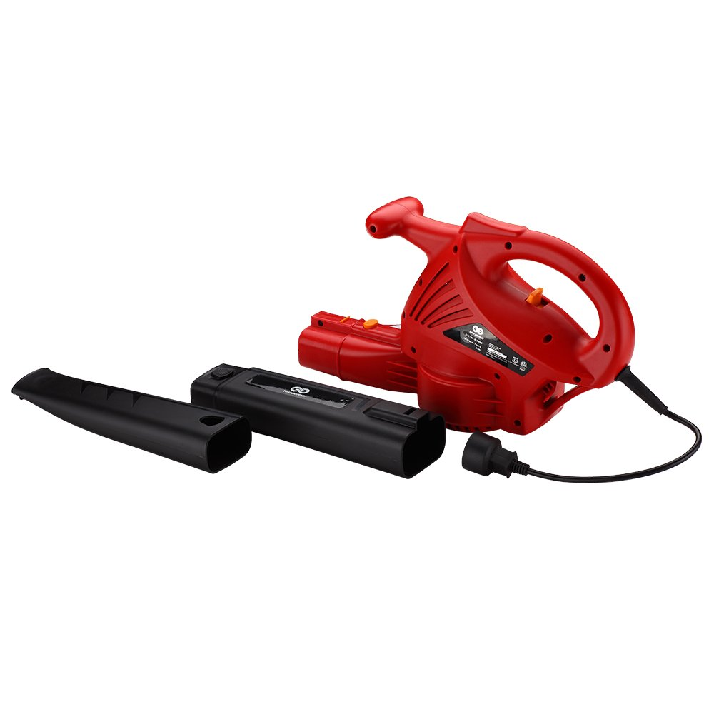 Best Partner Electric Leaf Blower,Corded Blower,7 Amp,2-Speed,160/200 MPH
