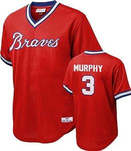 Dale Murphy Atlanta Braves Mitchell & Ness Authentic 1980 Batting Pratice Jersey by Mitchell & Ness