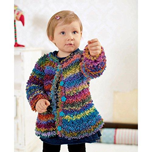 """Corda confezione per Teddy-cappotto in """"loop"""" - Colore: 60-Arancione-colorato - dimensioni 86"""