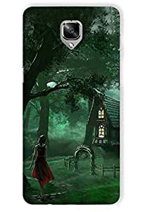 IndiaRangDe Case For OnePlus Three (Printed Back Cover)
