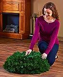 6-Ft. Pre-Lit Pop Up Christmas Tree (Multi-Colored Lights)
