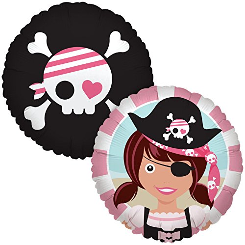 Birthday Express - Pretty Pirates Party Foil Balloon