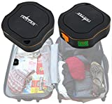 TKSTAR Exclusive Luggage GPS Tracker & Real-Time Outdoor Locator with SOS, Live Updates with Google Maps Route Software, Built-In Microphone and FREE GiffGaff SIM Card - Perfect for Tracking your Luggage and Personal Belongings