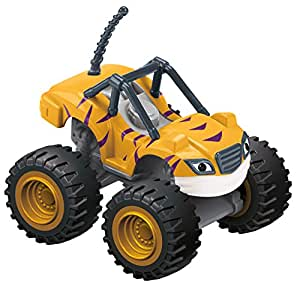 Fisher Price Fisher Price, Nickelodeon, Blaze And The Monster Machines, Stripes Basic Die Cast Vehicle