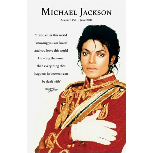 Michael Jackson ( Loved) Poster 11x17