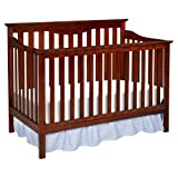 Delta Childrens Delta Children's Products Harlow 4-in-1 Fixed Side Convertible Crib, Cherry at Sears.com
