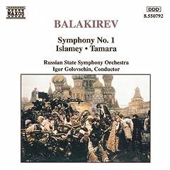 Balakirev;Sym.1/Islamey/Tam